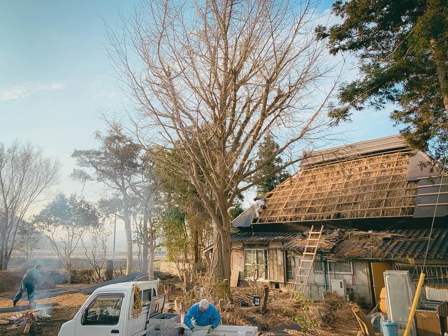日本伝統の「結(ゆい)」のつながりを藁ぶき古民家の甦生を通して広めたい